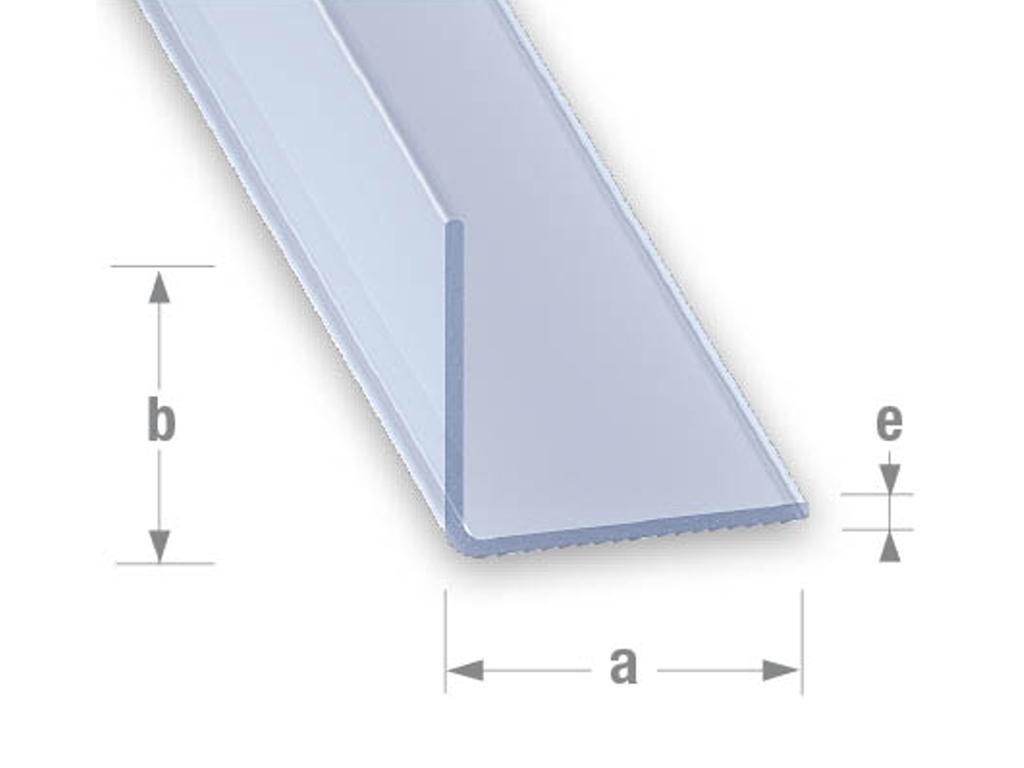 antshop switzerland ameisenshop ameisen kaufen profil l pvc transparent 25x25mm 1m. Black Bedroom Furniture Sets. Home Design Ideas